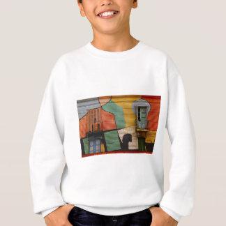 Colorful Shacks Buenes Aires Argentina Sweatshirt