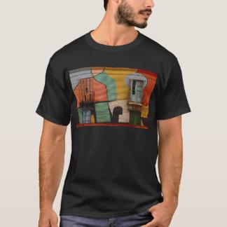 Colorful Shacks Buenes Aires Argentina T-Shirt
