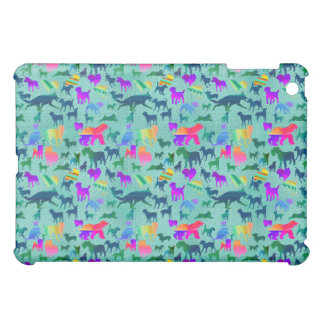 Colorful Shadow Dogs Case For The iPad Mini