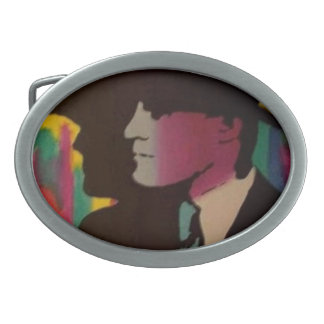 """""""Colorful Shadows"""" on a Belt Buckle"""