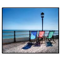 Colorful Shadows Photo Print
