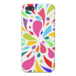 Colorful Shape Burst Cases For iPhone 5