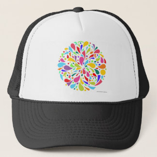 Colorful Shape Burst Trucker Hat