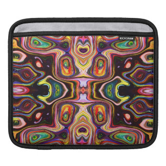 Colorful Shapes Abstract Sleeve For iPads