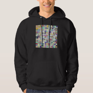 Colorful Shapes And Stuff Hoodie