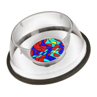 Colorful shapes bowl
