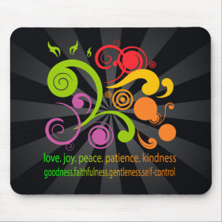 Colorful Shapes, Fruit of the Spirit Mouse Pad