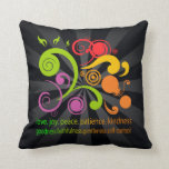 Colorful Shapes, Fruit of the Spirit Throw Pillow