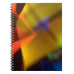 colorful shapes notebook
