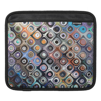 Colorful Shapes Pattern Sleeve For iPads