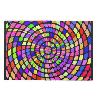 Colorful shapes whirlpool iPad air cover