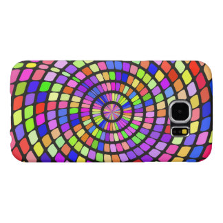 Colorful shapes whirlpool samsung galaxy s6 case