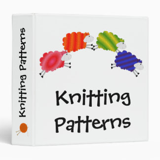 Colorful Sheep custom binder