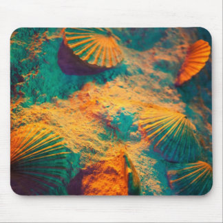 Colorful Shells Mouse Pad