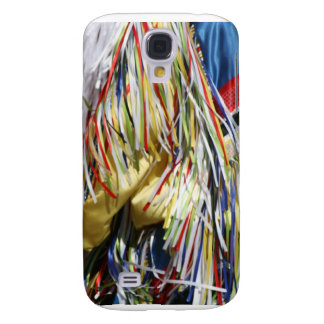 Colorful shimmer fringe close up samsung galaxy s4 case