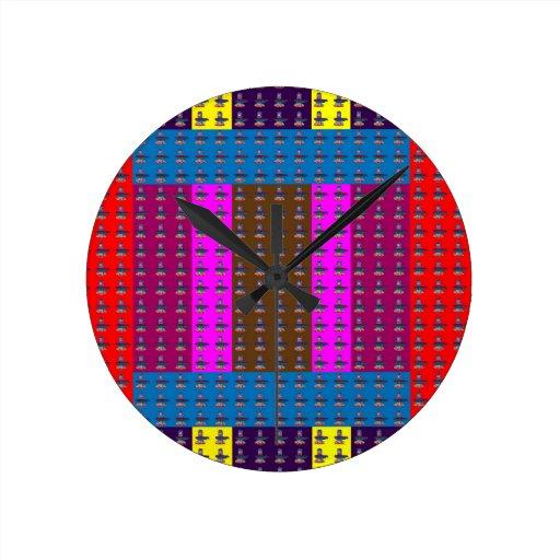 COLORFUL ShivaLinka Art Mandala Ideal GIFT occasio Clock