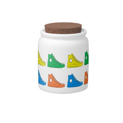 Colorful Shoes Candy Jars