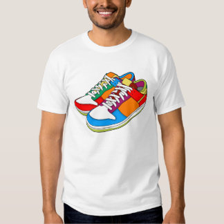 Colorful Shoes Shirt
