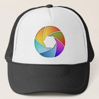 Colorful Shutter Trucker Hat