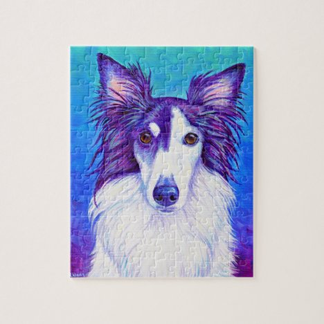 Colorful Silken Windhound Jigsaw Puzzle