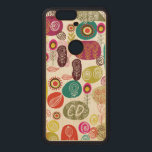 """Colorful Simple Hand Drawn Cute Flowers Pattern Wood Nexus 6P Case<br><div class=""""desc"""">Colorful hand drown simple cartoon style retro floral pattern. Cute and childlike style suitable for children&#39;s education development etc.. Available on other products and can be requested for any of the products offered at Zazzle.</div>"""