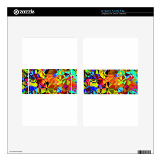 Colorful Skin For Kindle Fire