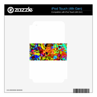 Colorful Skins For iPod Touch 4G