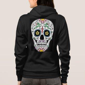 Colorful Skull Hoodie