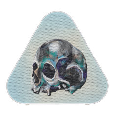 Colorful Skull Illustration Bluetooth Speaker at Zazzle