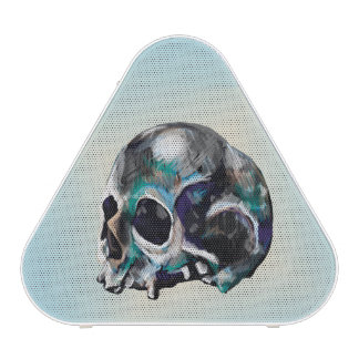 colorful Skull Illustration Bluetooth Speaker