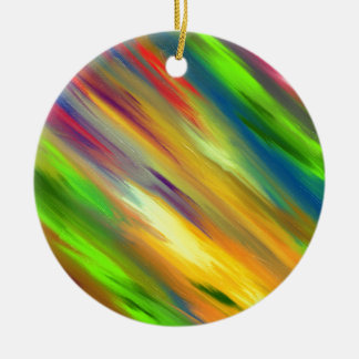 Colorful Sky Ceramic Ornament