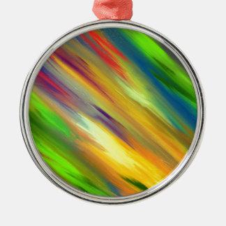 Colorful Sky Metal Ornament