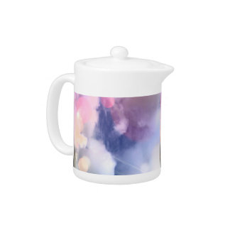 Colorful Sky Small Teapot