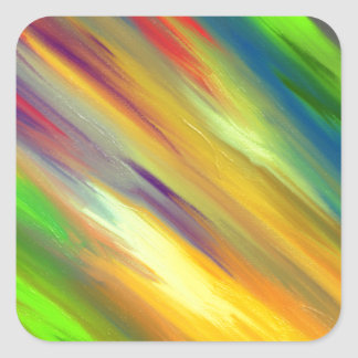 Colorful Sky Square Sticker