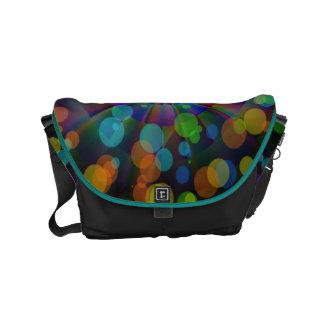 colorful small messenger bag