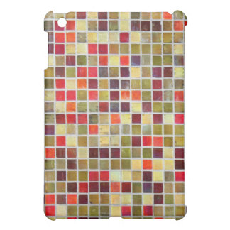 Colorful Small Tiling Background Cover For The iPad Mini