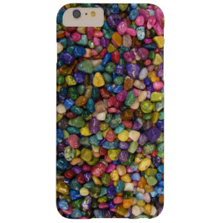 Colorful Smooth and Shiny Pebbles Rocks Barely There iPhone 6 Plus Case