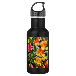 Colorful Snapdragons Water Bottle