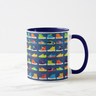 Colorful Sneakers for Outdoor Sports Mug