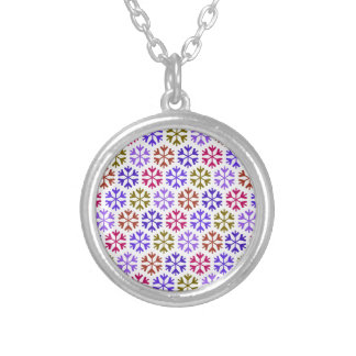 Colorful Snow Flake Pattern Jewelry