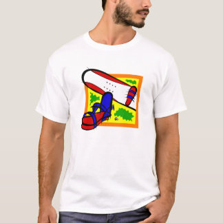 Colorful Snowboard T-Shirt