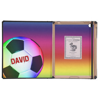 Colorful SOCCER FOOTBALL DODOcase Covers For iPad