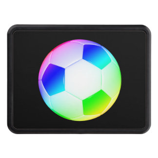 Colorful Soccer | Football Hitch Cover