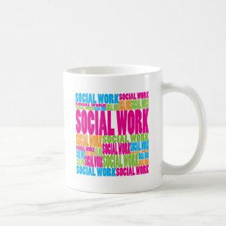 Colorful Social Work Coffee Mug