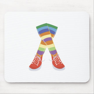 Colorful Socks Mouse Pad