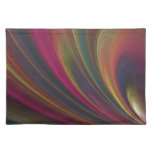 Colorful Soft Sand Waves Cloth Placemat