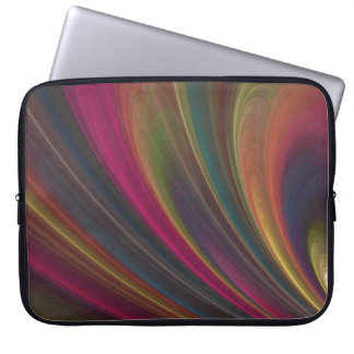 Colorful Soft Sand Waves Computer Sleeve