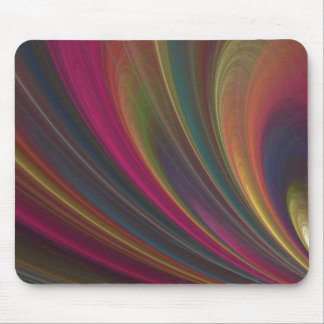 Colorful Soft Sand Waves Mouse Pad