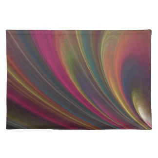 Colorful Soft Sand Waves Placemats