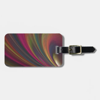 Colorful Soft Sand Waves Tag For Bags